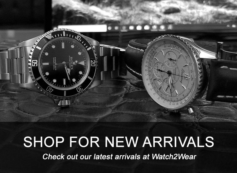 SHOP FOR NEW ARRIVALS Check out our latest arrivals at Watch2Wear